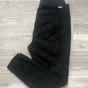 MOTHER Black Pants in Size 27